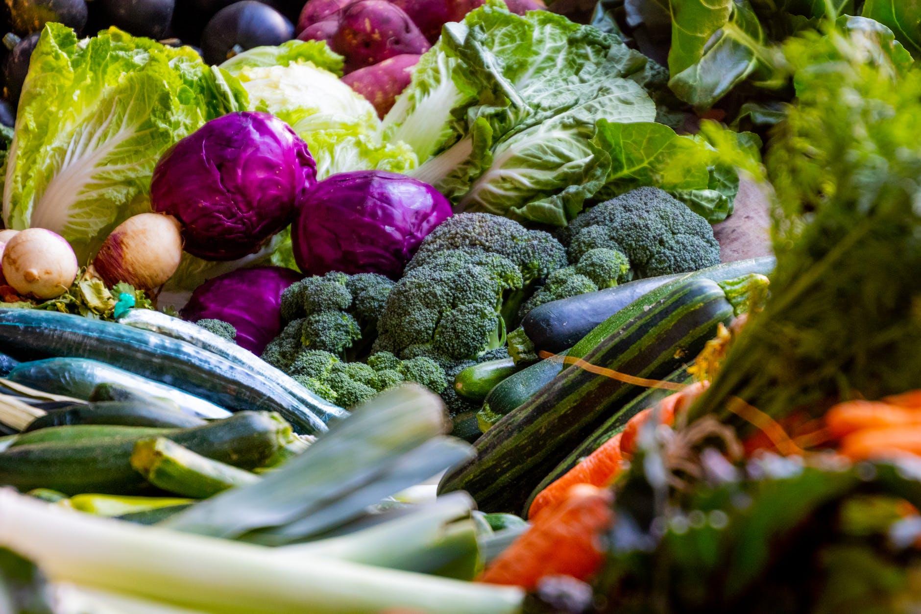 รับประทานอาหาร vegatable