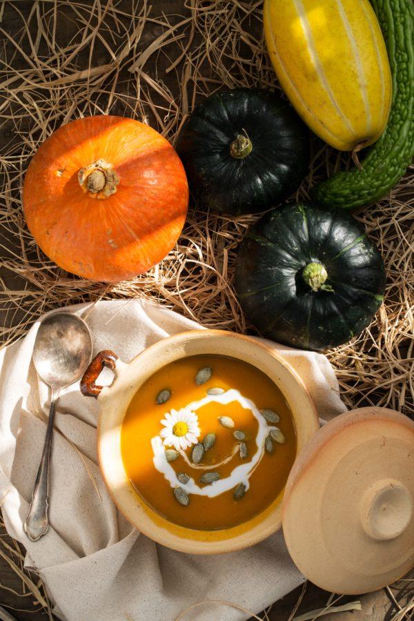 ประโยชน์ของฟักทอง ผักสีเหลืองน่าลองอุดมไปด้วยสารอาหารหลายชนิด