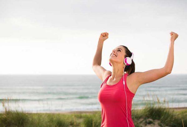 สุขภาพจิตที่ดี เริ่มต้นด้วยการออกกำลังกายอาหารที่ดีและการพักผ่อนที่เพียงพอ